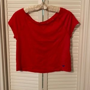 Hollister GUC crop top red/orange